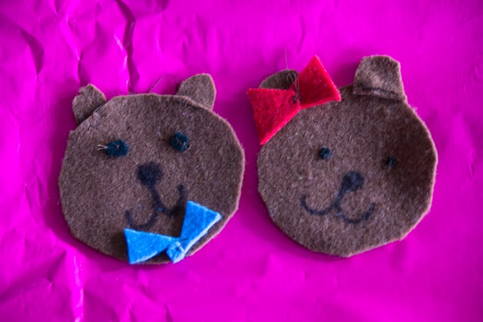 Fun with felt - patch pals