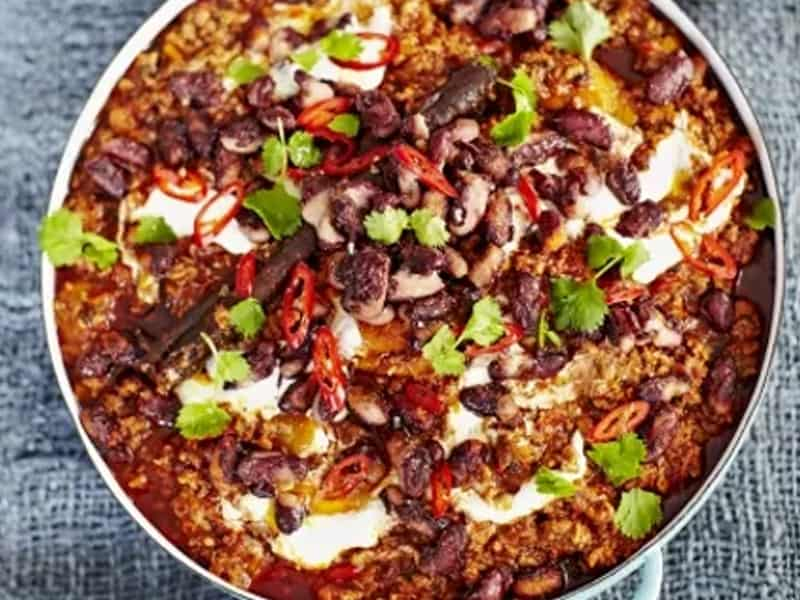 Jamie Oliver chilli con carne + 24 other family dinner recipes we love