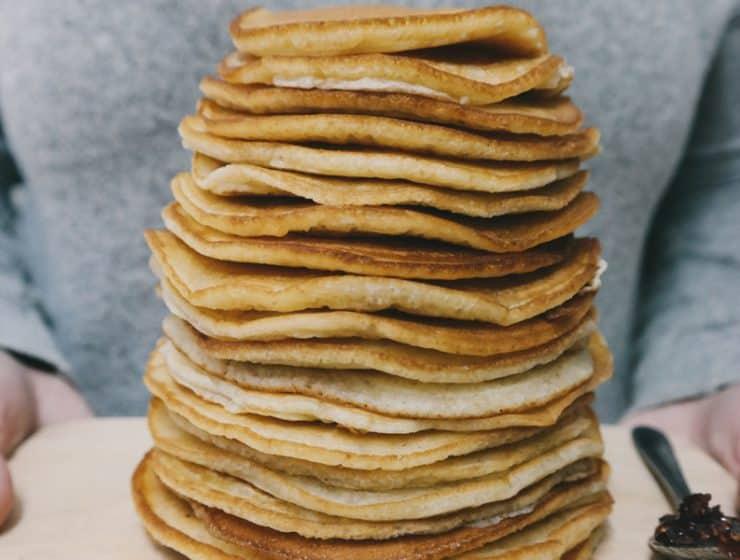 Wholemeal Buttermilk Pancakes Recipe