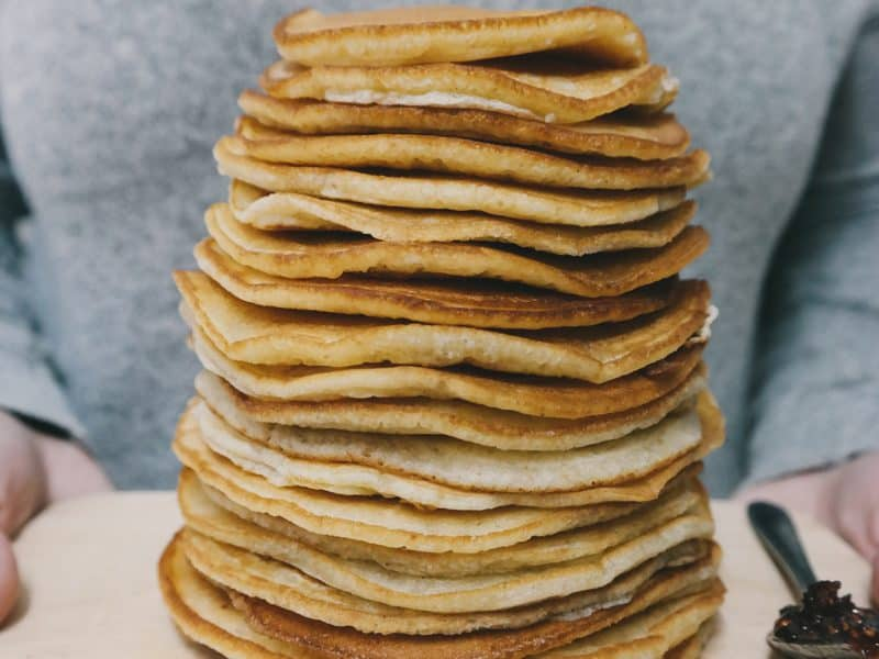 Wholemeal Buttermilk Pancakes Recipe