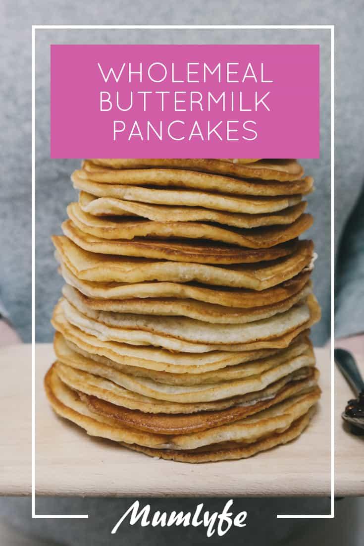 Wholemeal Buttermilk Pancakes Recipes - so good, so easy!
