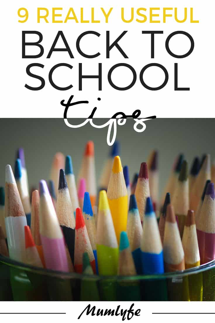 9 really useful back to school tips