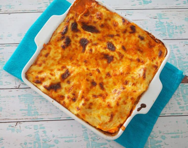 Easy lasagne recipe