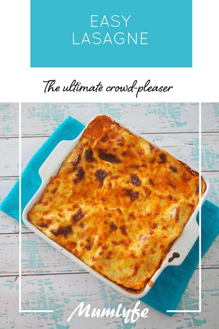 Easy lasagne recipe