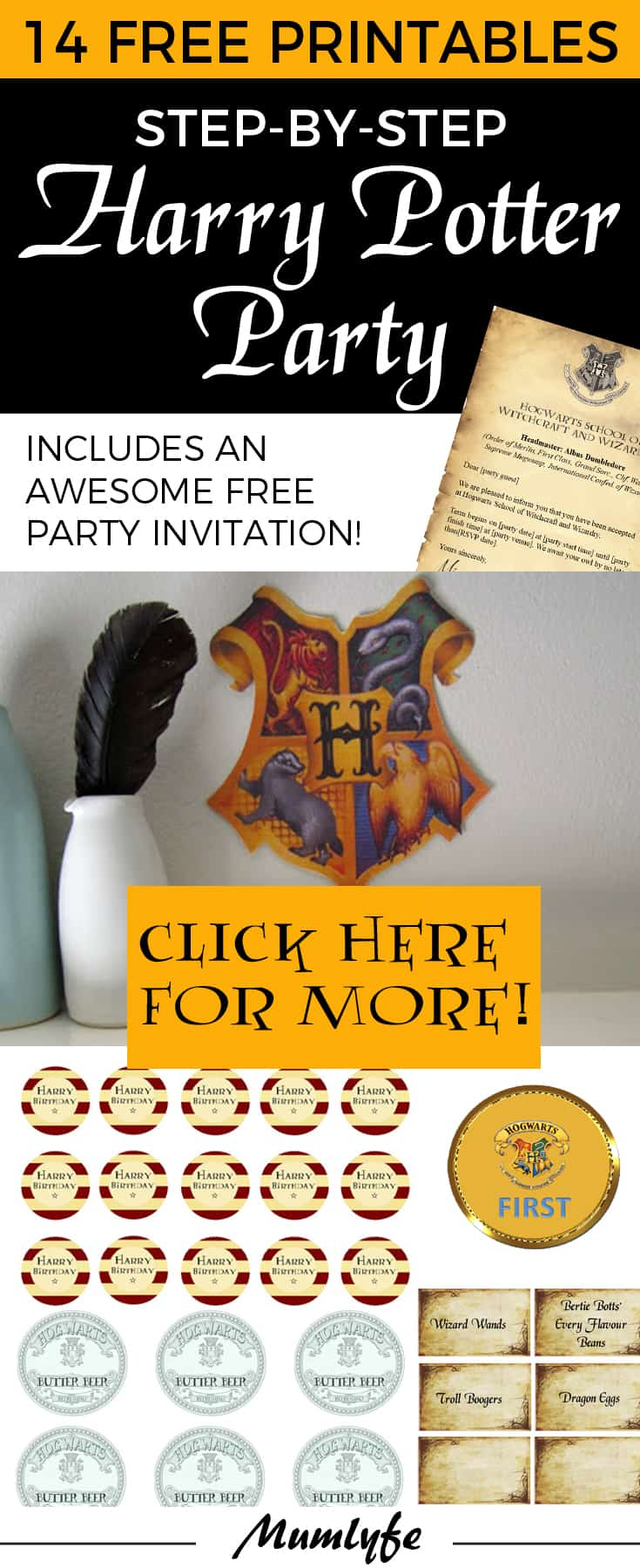 Click Here For Harry Potter Game Ideas
