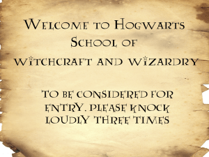 Influential image with harry potter signs printable