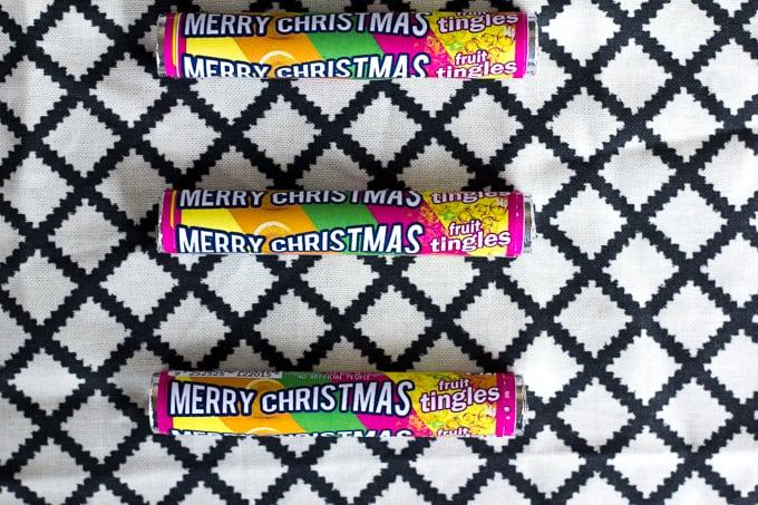 Merry Christmas Fruit Tingle wrappers - free printable