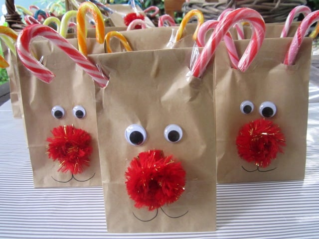 Rudolf Treat Bags to make