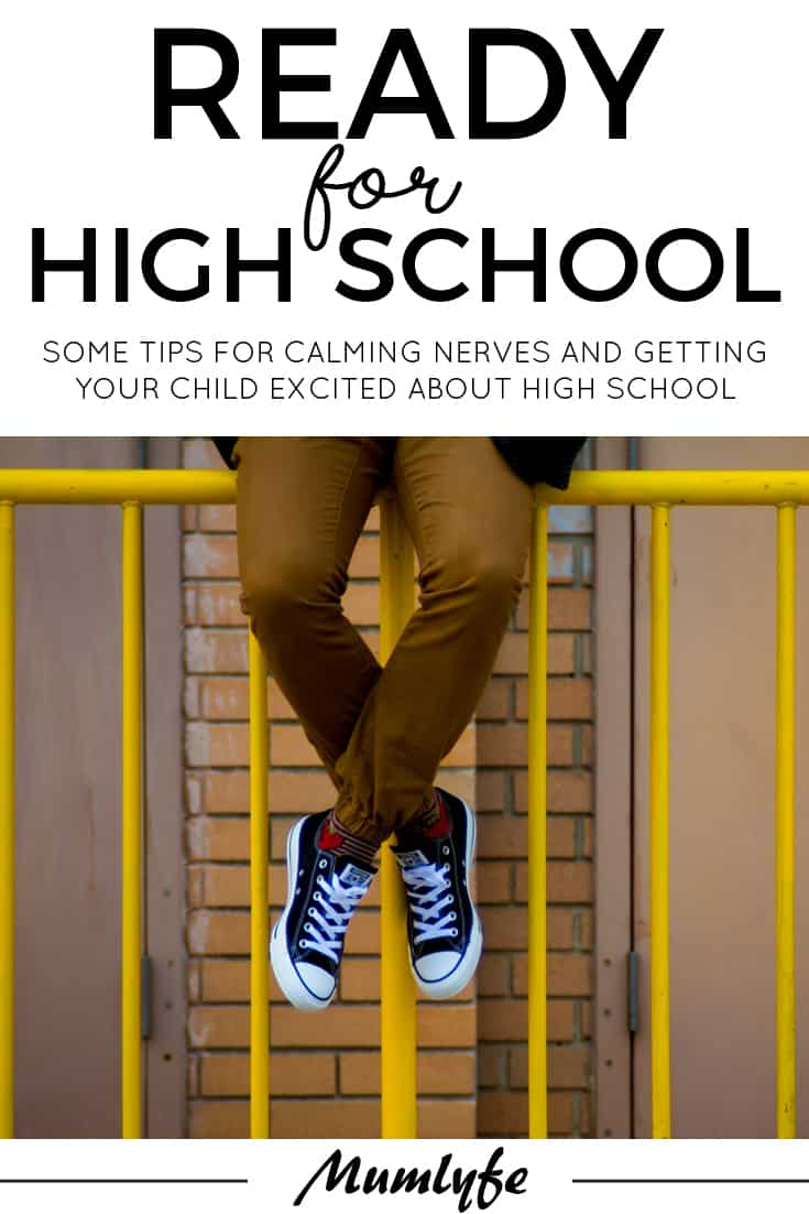 Tips for getting ready for high school