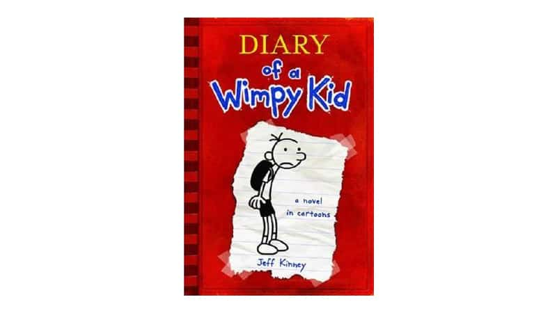 Book series for reluctant readers - Diary of a Wimpy Kid