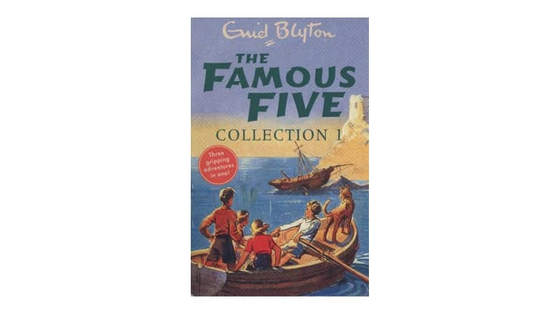 Book series for reluctant readers - Famous Five