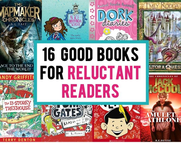 Books for reluctant readers - great book series kids can't put down
