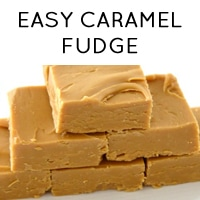 Easy caramel fudge recipe