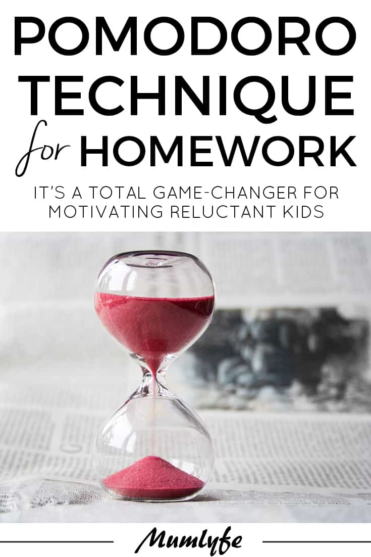 Try the Pomodoro Technique for Homework - it's a game-changer