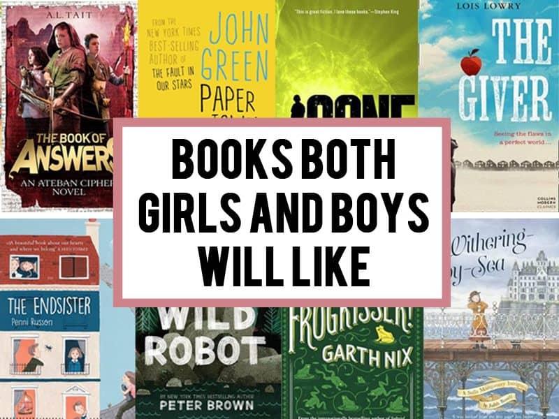 Books both boys and girls like