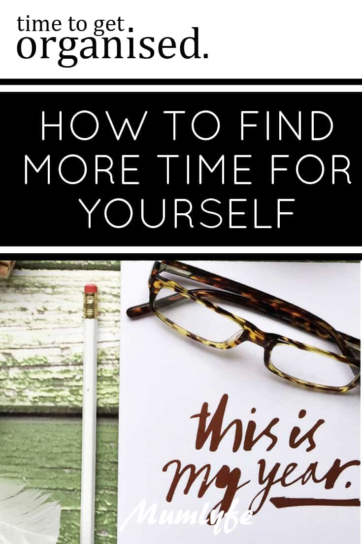 How to find more time for yourself