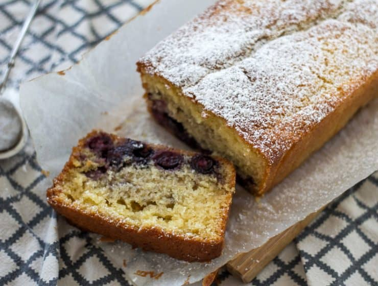 Best blueberry and yoghurt loaf - so easy and delicious