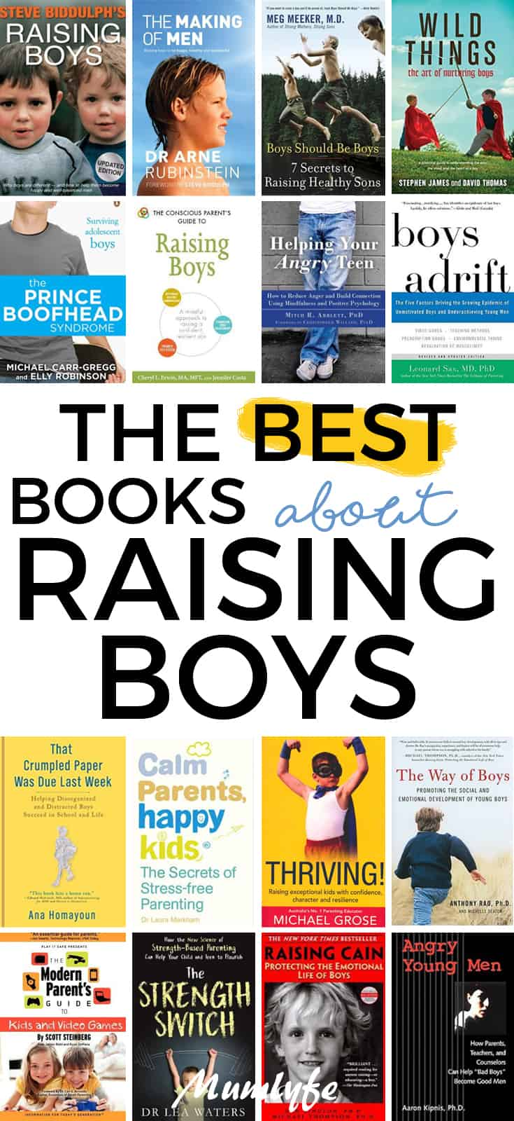 Very helpful books about raising books - the parenting books that really help