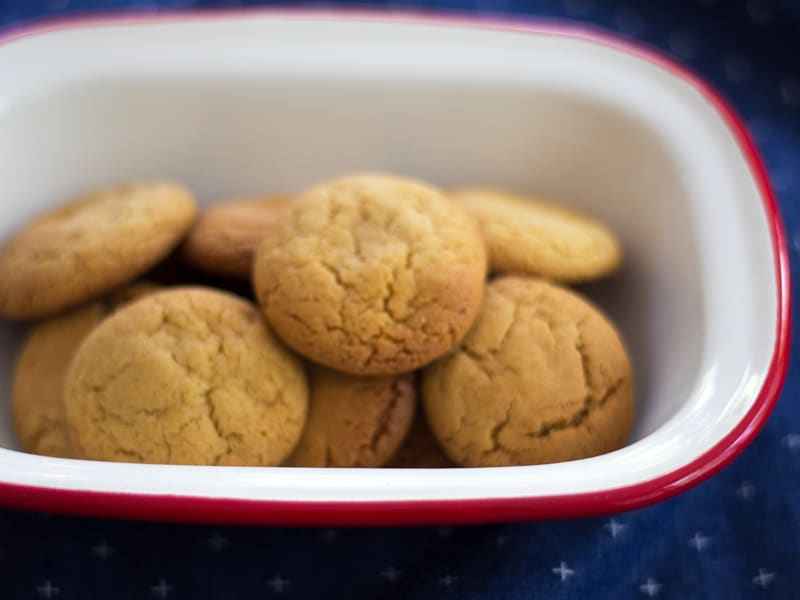Ginger biscuits - great to make and freeze