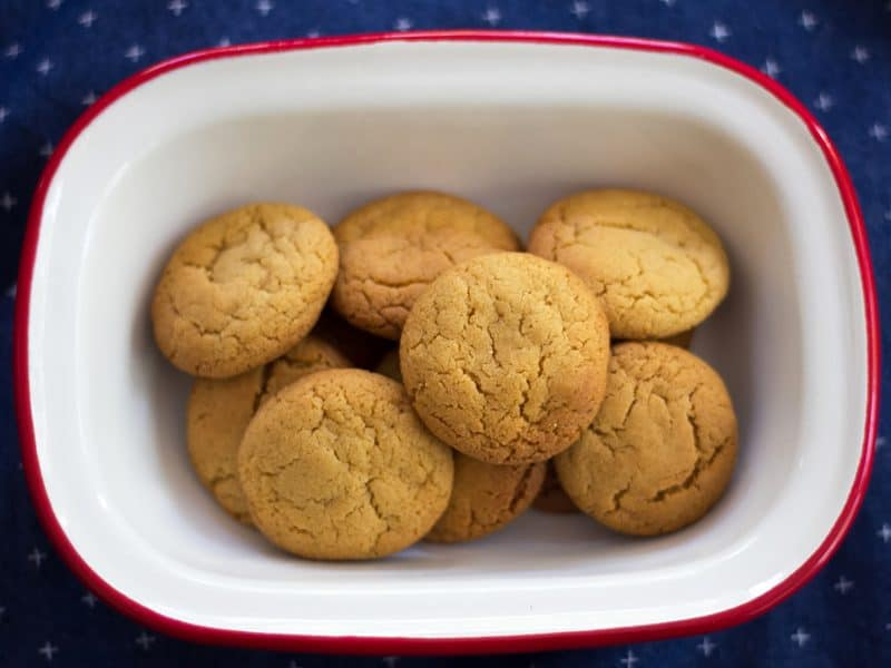 Ginger biscuits - make them in bulk and freeze