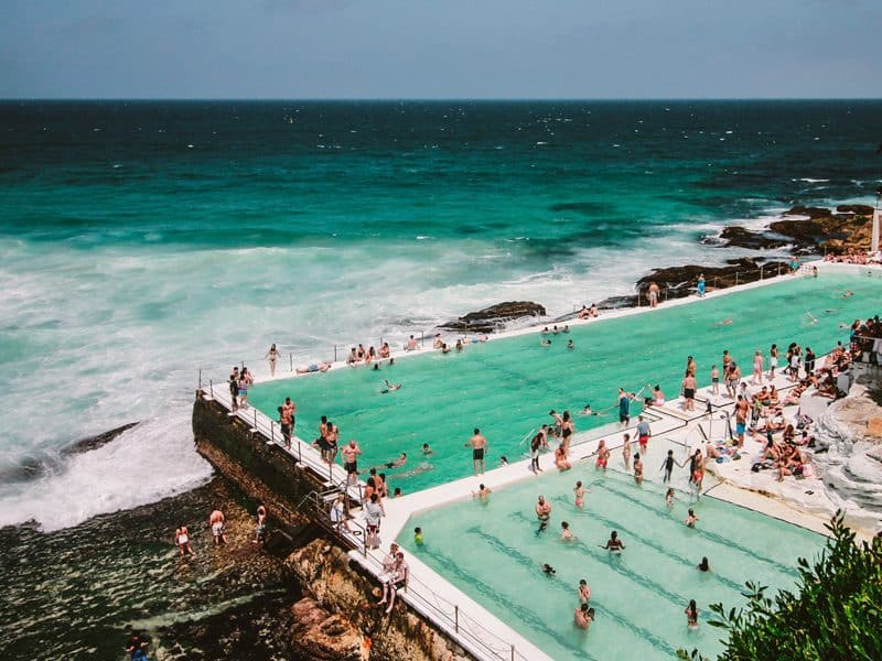 Things in Sydney for older kids - harbour and beach pools
