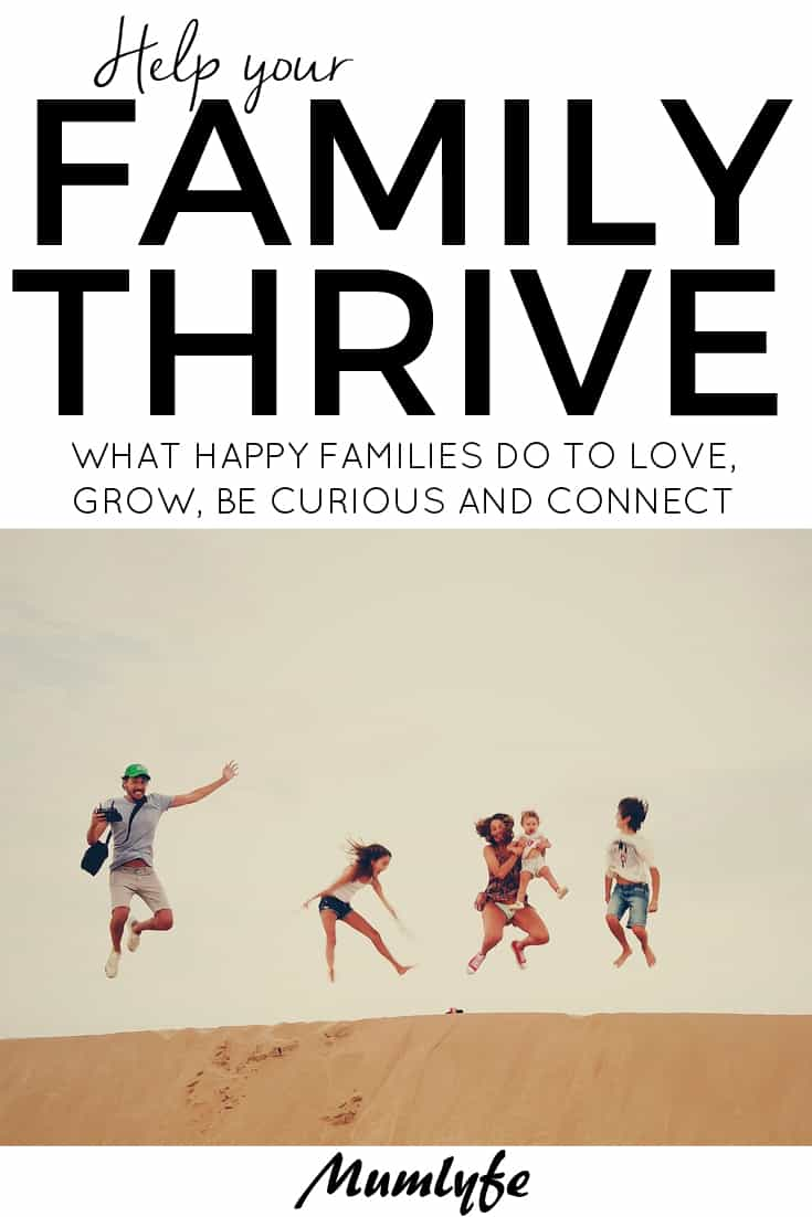 What thriving families do differently