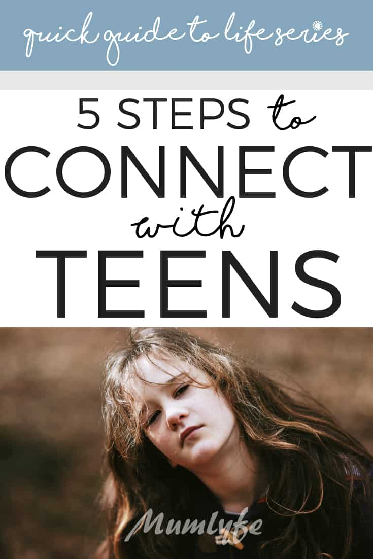 A quick guide to connecting with teens and tweens