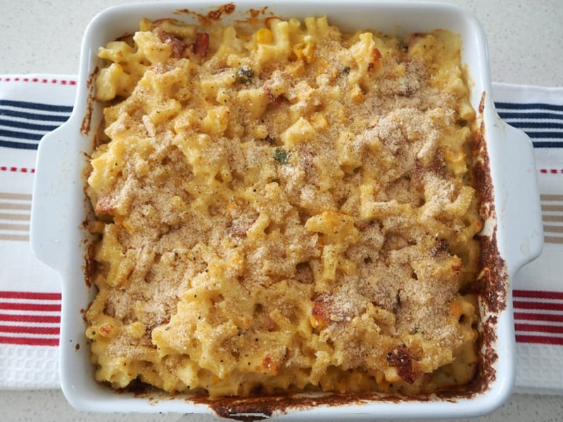 Mac and cheese - comfort food at its finest