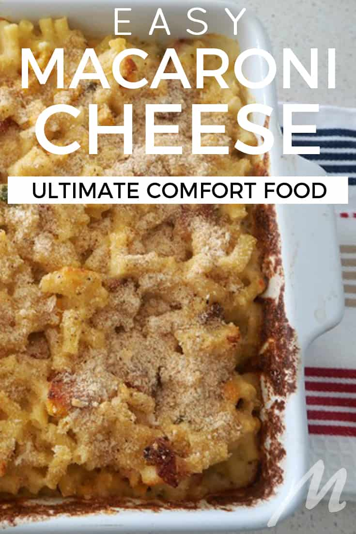 Mac and cheese recipe - ultimate comfort food