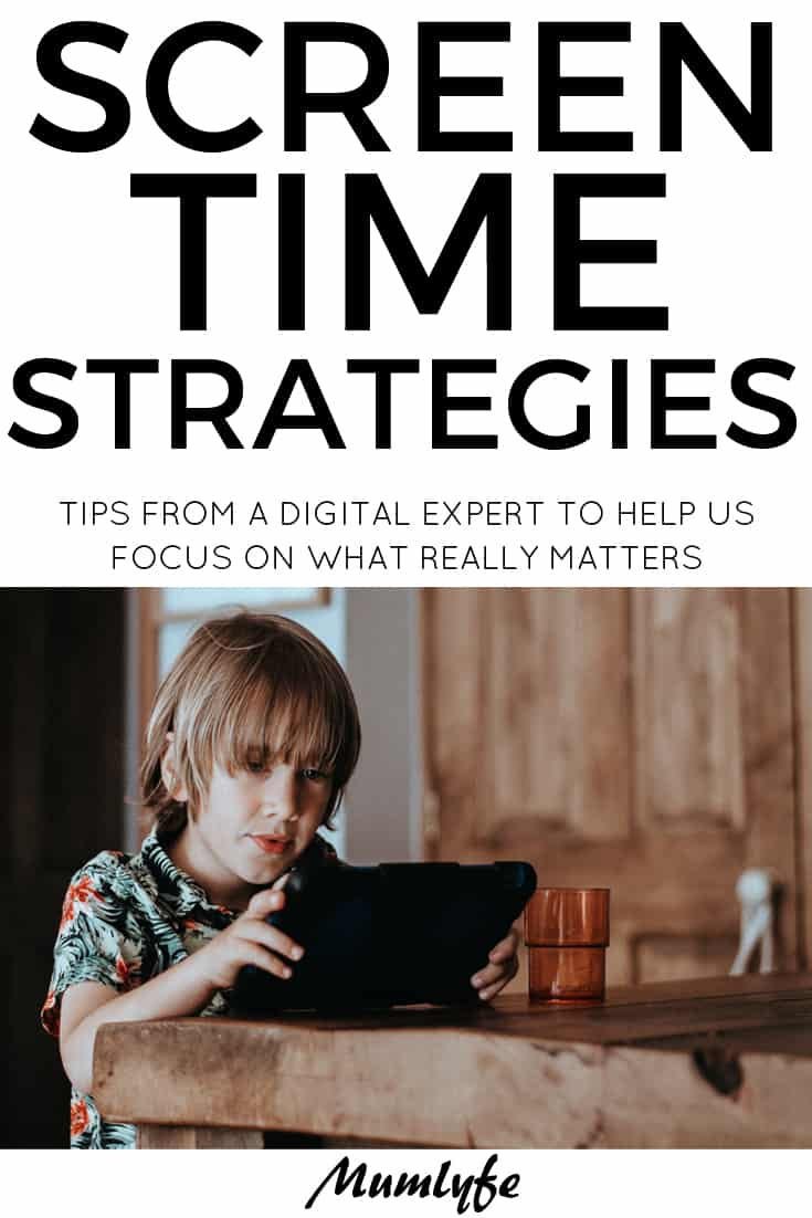 Managing screen time - tips from a digital expert to help parents focus on what really matters