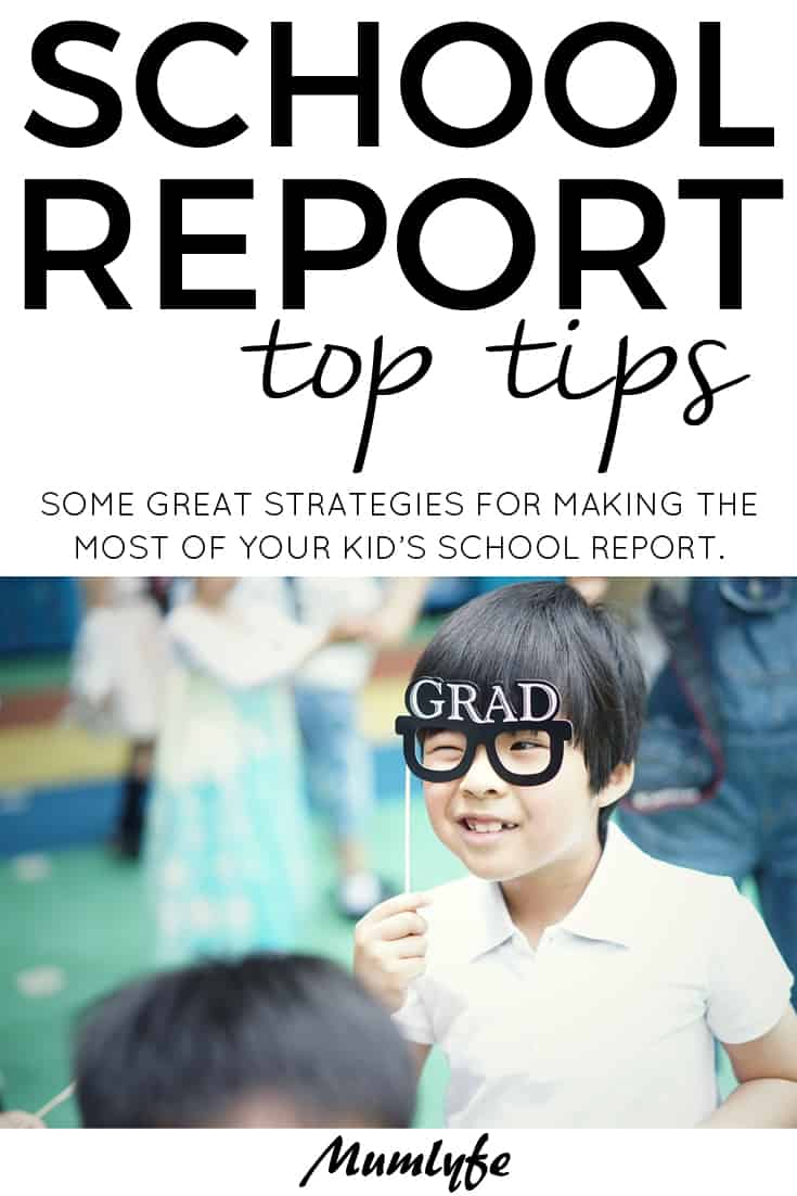 School reports - top tips for making the most of your child's school report