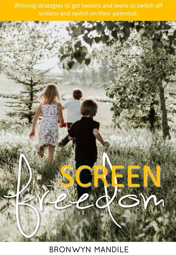 Screen Freedom ebook - things for older kids to do instead of screens