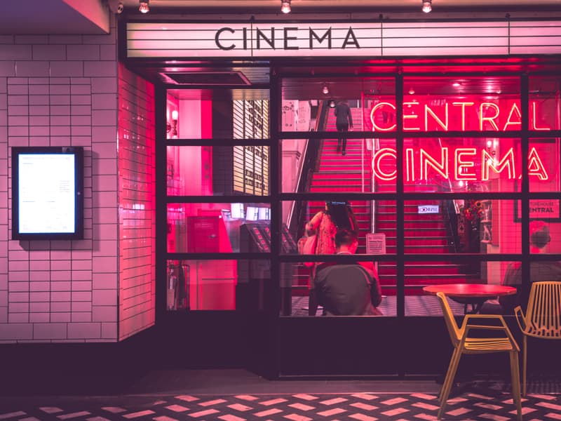 Connect with your teen - go see a film together