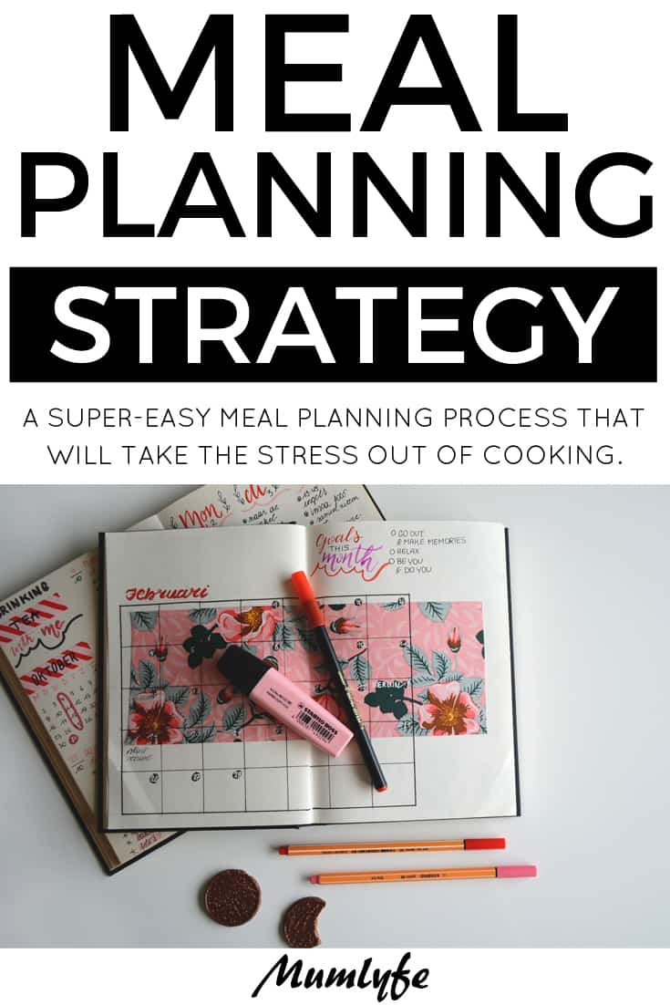 Easy meal planning - take the stress out of cooking