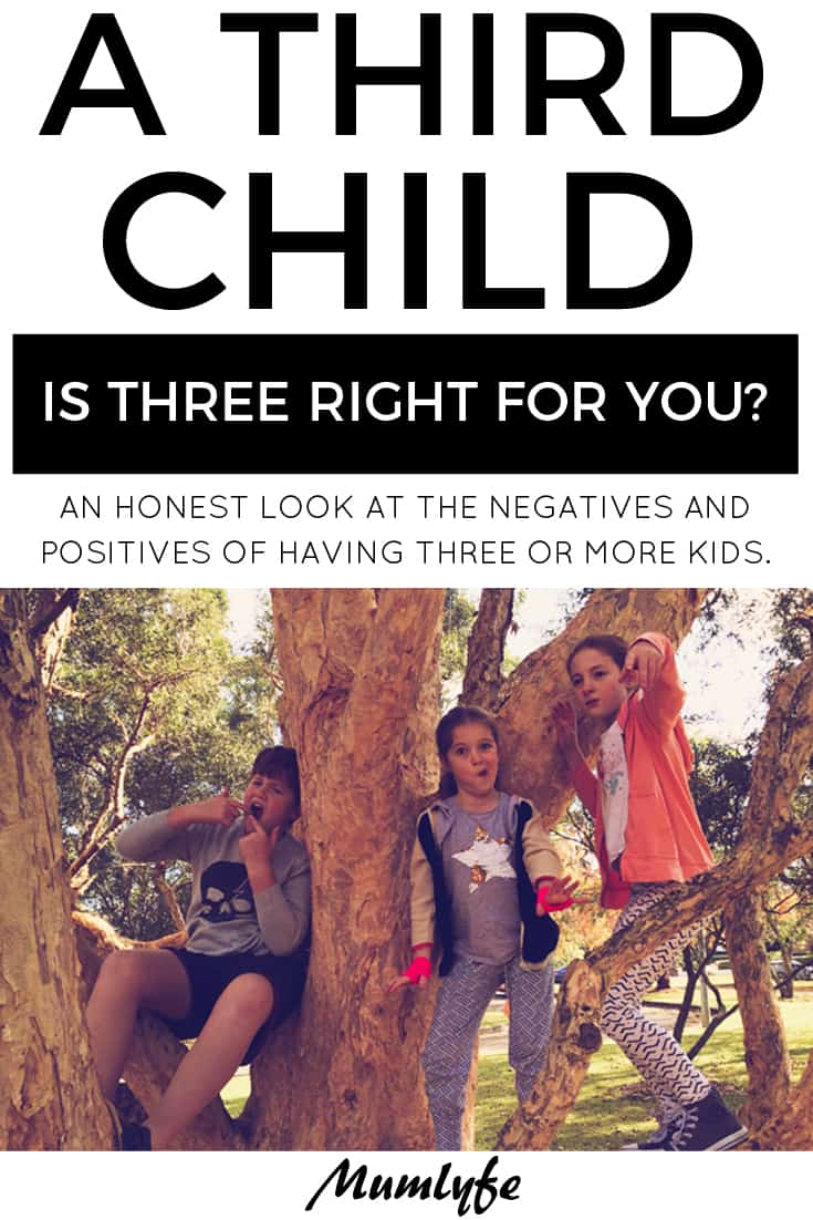 Third child - An honest look at whether three kids is a good idea