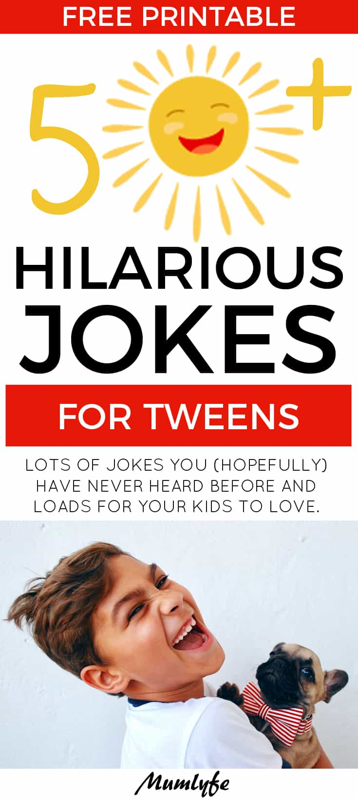 50+ hilarious jokes for tweens - fun and clever jokes to make tweens laugh