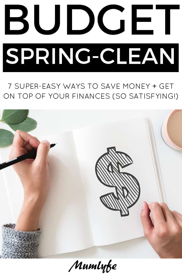 Super-easy ways to do a budget spring-clean