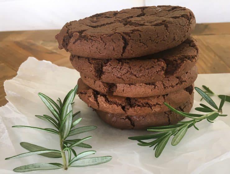Rosemary and chocolate bicuits - cheep and cheerful