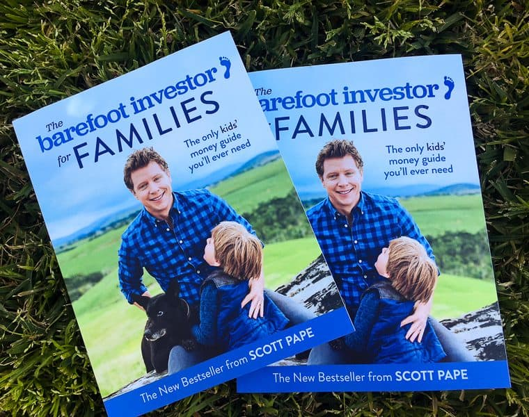WIN The Barefoot Investor for Families by Scott Pape