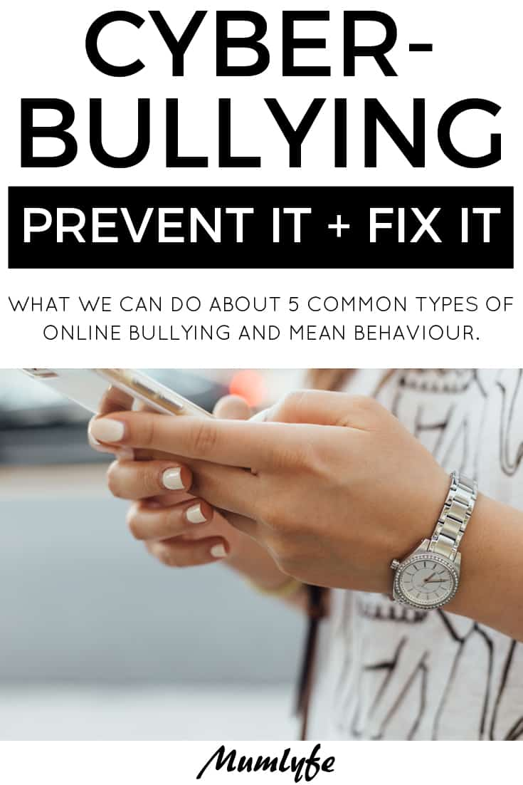 Cyberbullying and online mean behaviour and what you can do about it