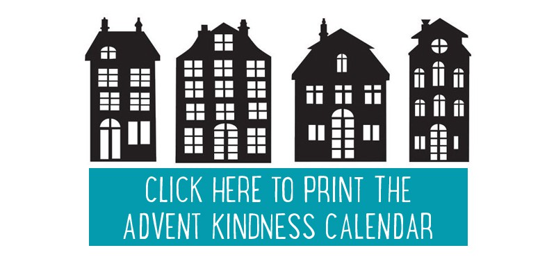 Advent Kindness Calendar - free printable. Loads of ideas for spreading kindness this Christmas. #advent #adventcalendar #freeprintable