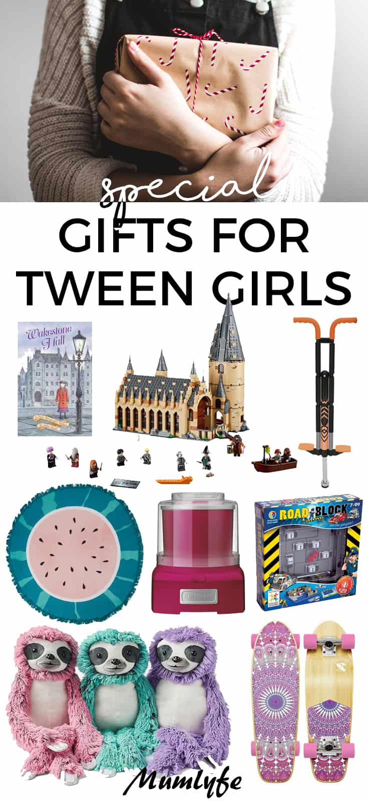 Special gift ideas for tween girls - best gift list for Christmas