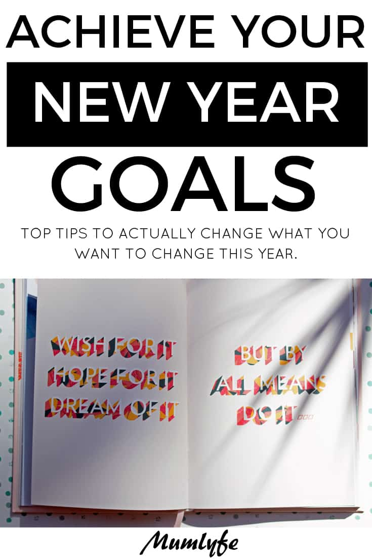 Achieve your new year goals with this top tips #newyear #goals