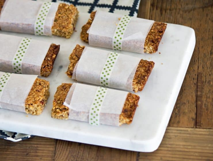 Breakfast bars for families on the go