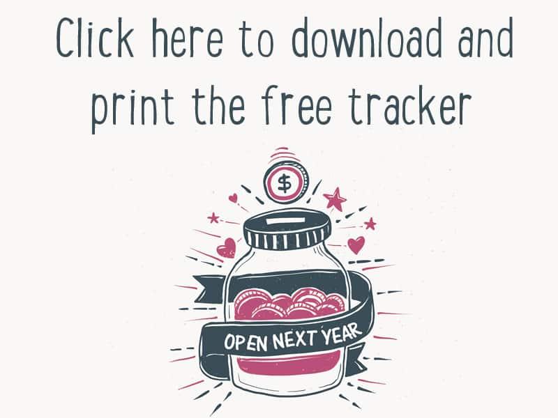 FREE 52 week savings challenge tracker to download and print #savingschallenge #money #printable #mumlyfe