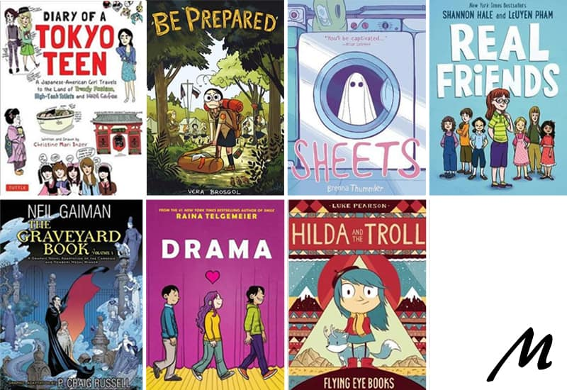 Graphic novels that make great gifts for reluctant readers