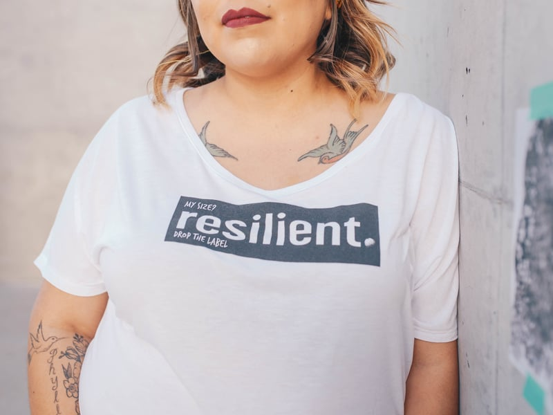 How to build resilience - body confidence
