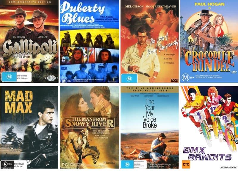 Australian 80s movies to watch with the kids #80smovies #Australianmovies