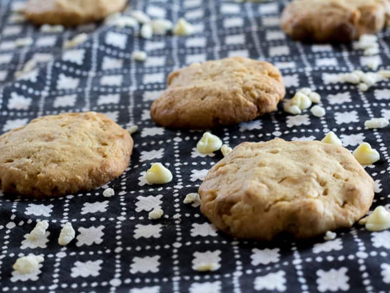 Choc-chip, oat and zucchini biscuits #cookies #zucchini