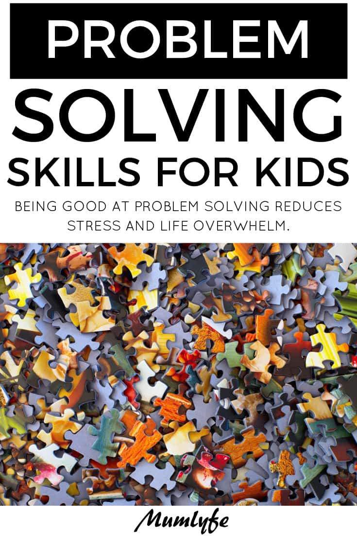 5 steps to better problem solving skills for kids #parent #parenting #problemsolving #resilience